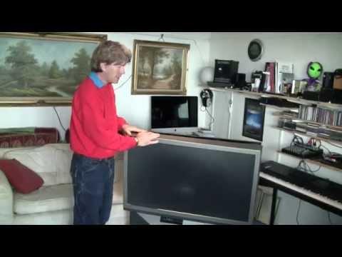 MF#18 Toshiba Rear Projection TV Teardown