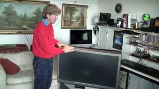 MF#18 Toshiba rear projection TV teardown