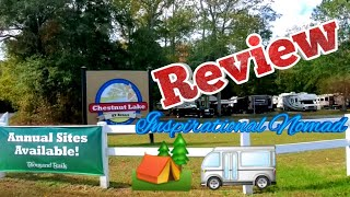 Chestnut Lake RV Resort | Thousand Trails Campground REVIEW