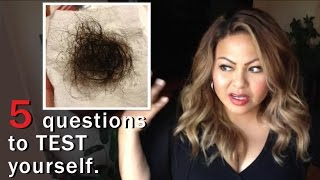 Do You Have Normal Hair Loss/Breakage? (5 Questions)