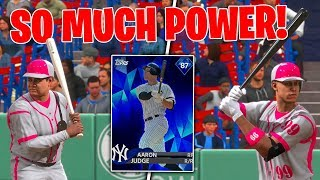 WE DRAFTED DIAMOND AARON JUDGE AND BABE RUTH! MLB The Show 18 Battle Royale Draft and Gameplay