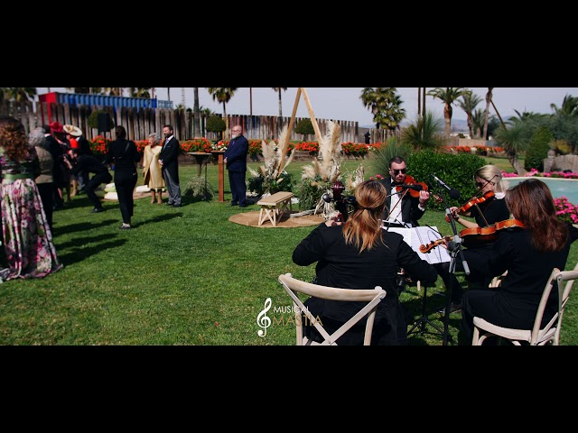 Entrada Novia | Ceremonia Civil | Musicos para Bodas | Violines Murcia