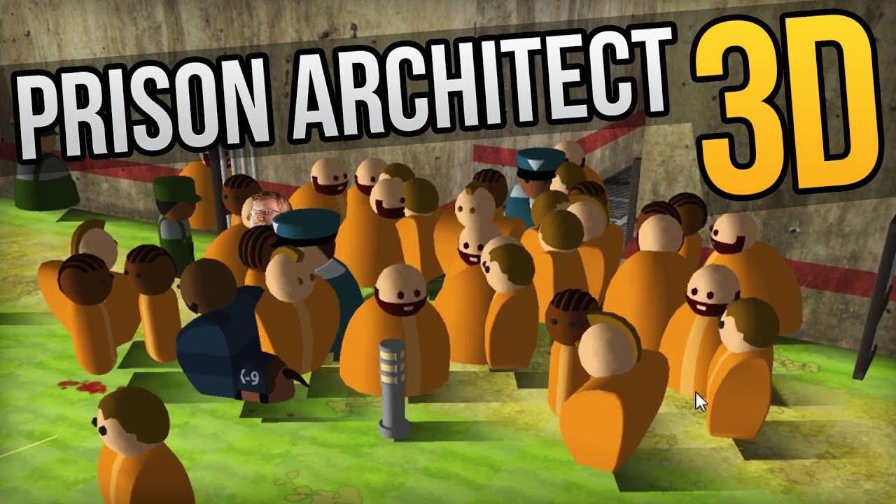 PRISON ARCHITECT 3D ??? - Hidden Feature in Prison Architect 3D Mode ...