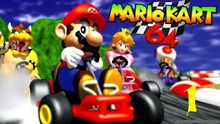 Let´s Play Mario Kart 64 - Part 1 - 50cc - Pilz Cup (START)