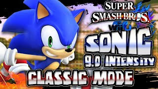 Super Smash Bros Wii U - (1080p 60FPS) Part 1 - Classic Mode Level 9 w/Sonic & Giveaway