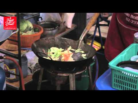 Bangkok Street Food | Stir Fried Rice Vermicelli With Vegetables – Yaowarat Chinatown | Thai Food