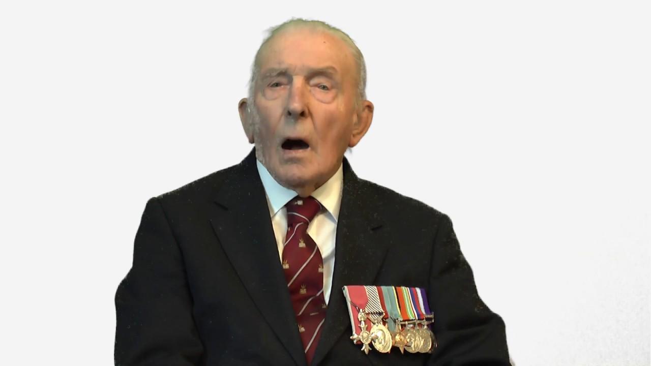 Johnny Johnson discusses Carew Cheriton Control Tower Museum