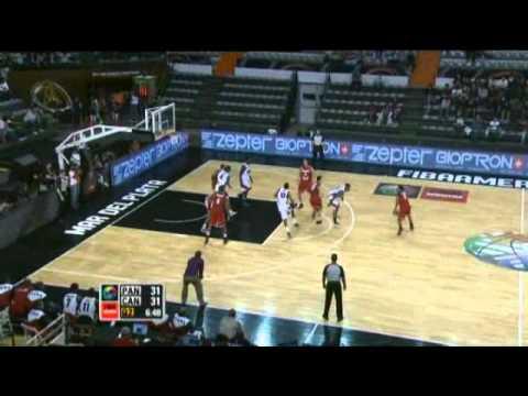 Panama Vs. Canada / 2011 FIBA Americas Championship Round 2