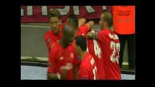 Video Gol Pertandingan Dnipro Dnipropetrovsk vs Sevilla