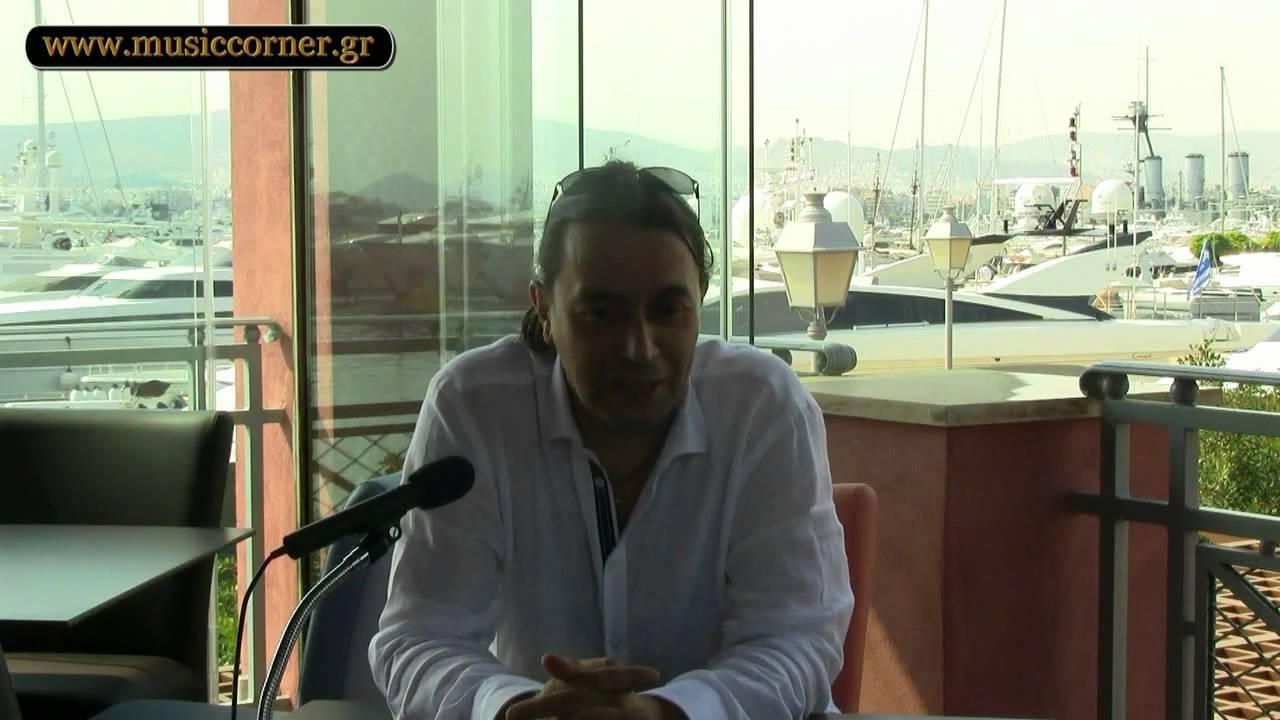 Ο Γιάννης Κότσιρας στο MusicCorner.gr -Α' μέρος