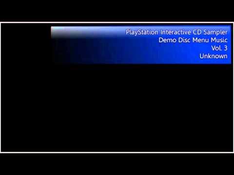 PlayStation Interactive CD Sampler Vol. 3 Menu Music