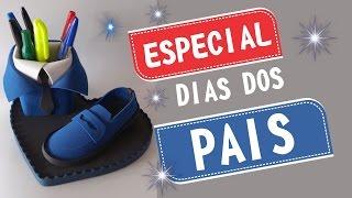 Como fazer lembrancinha dia dos pais ( sapato social em EVA)