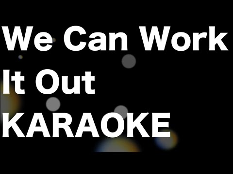 The Beatles - We Can Work It Out - KARAOKE