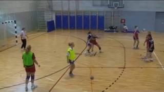Броски линейные Гандбол //Handball Throws line