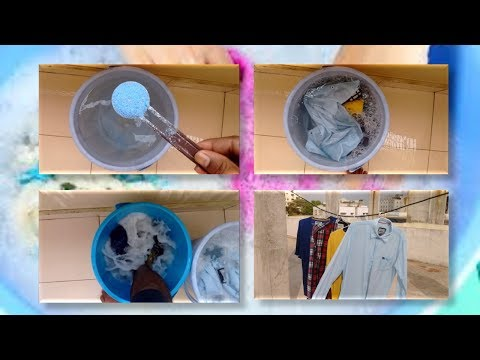 How to wash your clothes without washing machine | For bachelors
