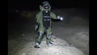 A Night With Deminers Clearing The Maiden Wardak Highway