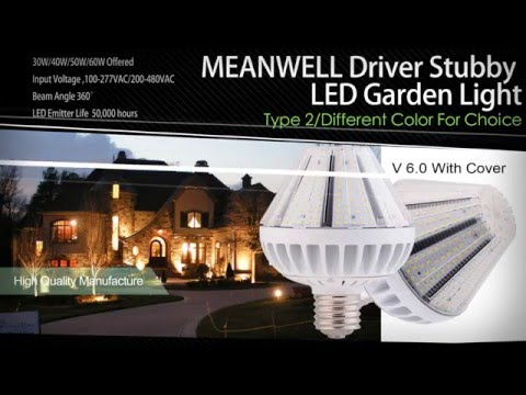 7 Series LED Garden Corn Street Lamps For 2016 | LED Post Top Retrofit