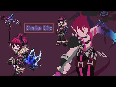 Grand Chase M - Draka Dio Review