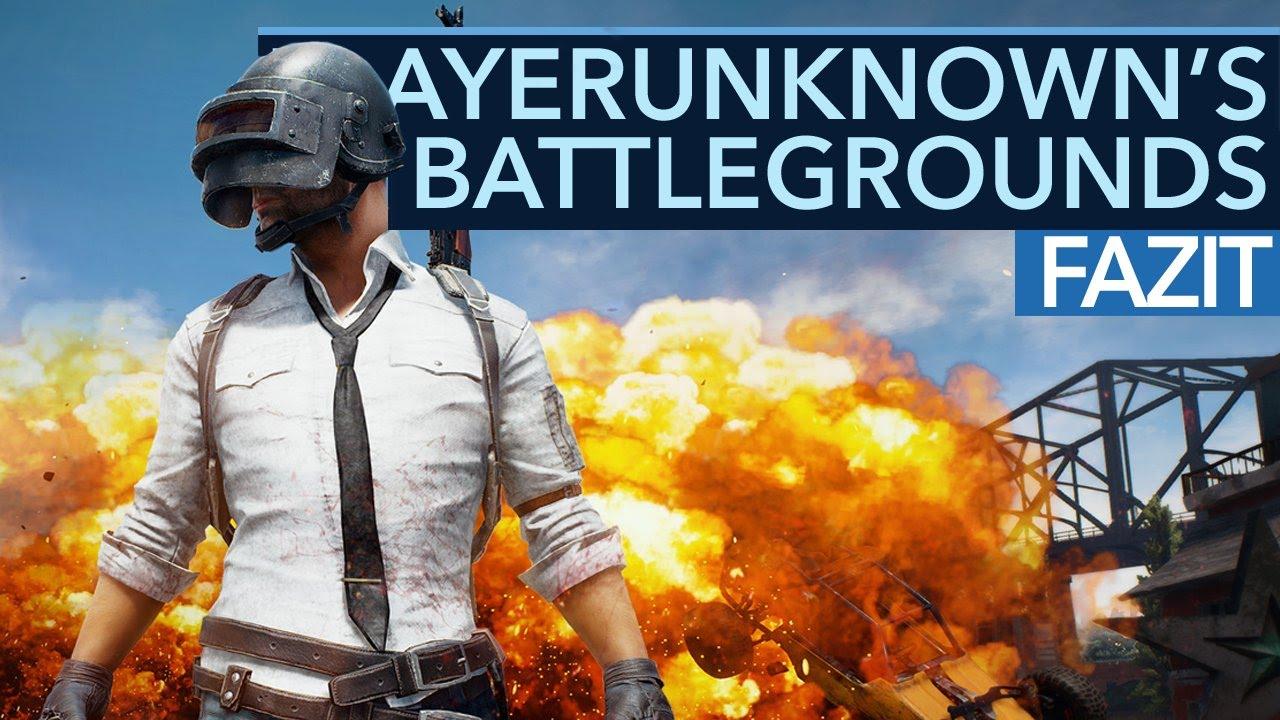 Fazit zu PLAYERSUNKNOWN'S BATTLEGROUNDS - Neue Battle-Royale-Hit im Early Access