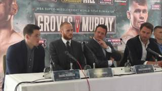 GEORGE GROVES v MARTIN MURRAY - OFFICIAL PRESS CONFERENCE W/ EDDIE HEARN, KALLE SAUERLAND