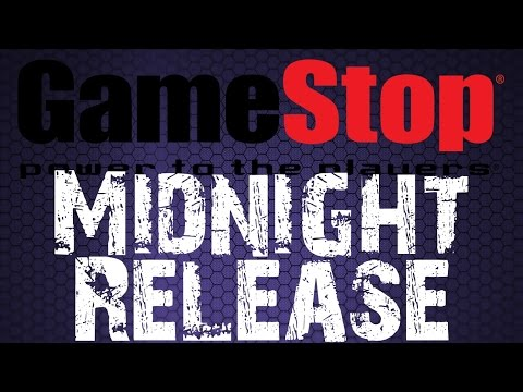 Midnight Release At Gamestop Black Ops 3 Edition Youtube
