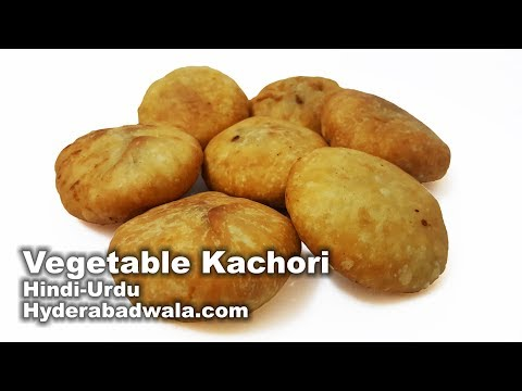 Vegetable Kachori Recipe Video in Hindi – Urdu – How to Make Sabzi/Tarkari Ki Kachori