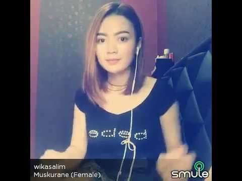 Wika Salim Muskurane Female Smule Indonesia Youtube