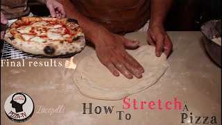 "HOW TO STRETCH A REAL PIZZA ""Slap Technique"""