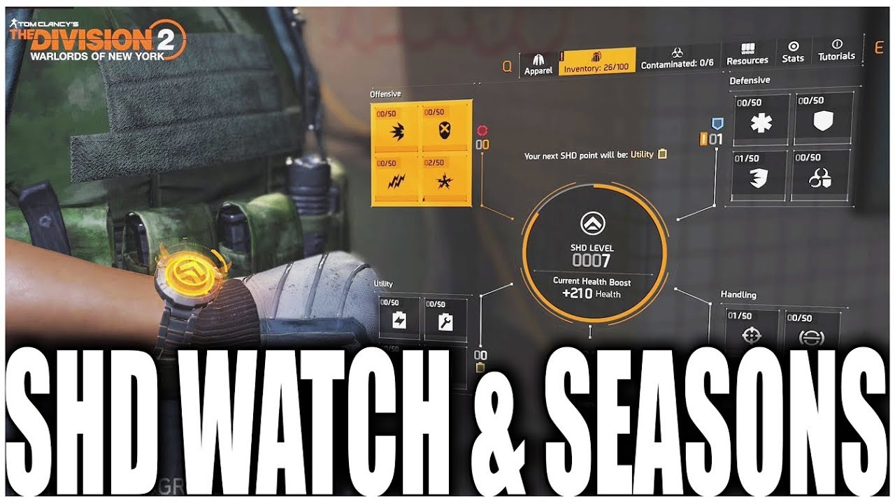THE DIVISION 2 | NEW SHD WATCH FEATURE COMING TO WARLORDS OF NEW YORK PLUS SEASONS | THIS IS AMAZING