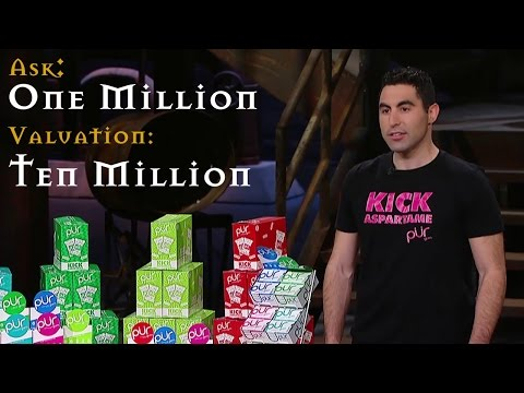 Biggest deal ever? Pur Gum wants $1M with a $10M valuation! (Dragons' Den Canada)