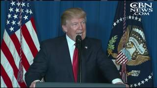 REFLECTION: What the Spiritual Language in the Syria Speech Tells Us About Trump