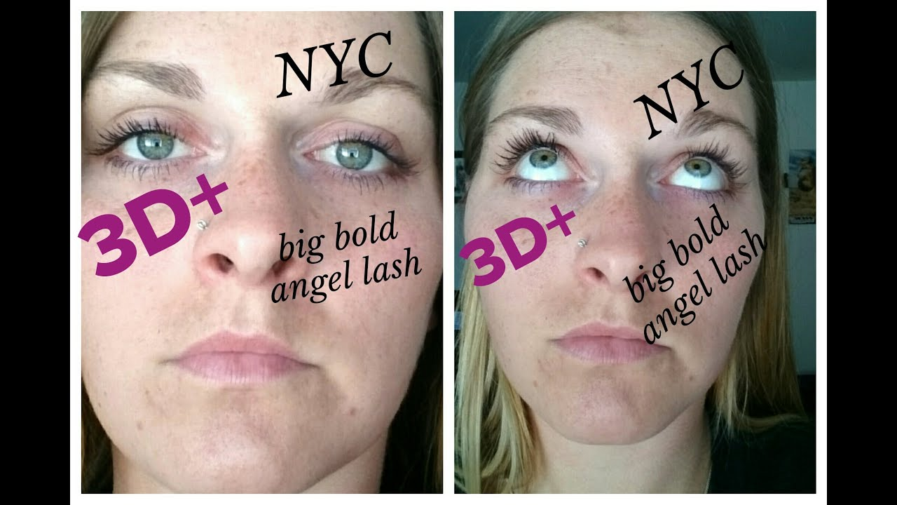 Nyc Big Bold Angel Lashes Vs Younique 3D Wwwsimplebeauti -9428