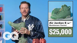 Macklemore Shows Off His Sneaker Collection | GQ