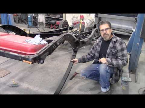 How to install a TCI rear suspension kit