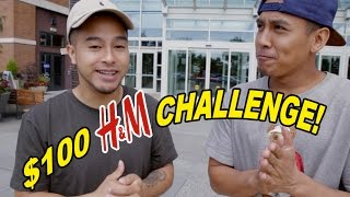 THE $100 H&M OUTFIT CHALLENGE!! BACK TO SCHOOL!!