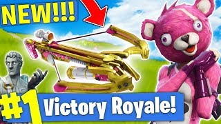 THE *NEW* LEGENDARY CROSSBOW IN Fortnite Battle Royale!!