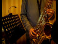 Saxophone lesson - How to play funk in F