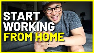How to Transition to WORKING AT HOME // Tips to Work Remotely Successfully