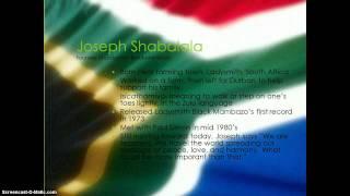 Joseph Shabalala-Founder of Ladysmith Black Mambazo