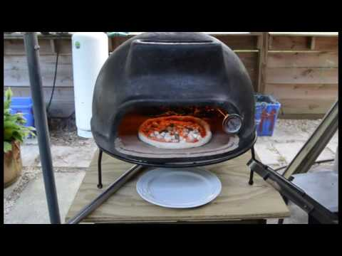 Neapolitan Pizza With Mexican Wood Pizza Oven Youtube