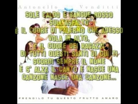 Antonello Venditti - Eroi minori con testo