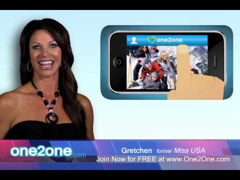 Ms America Helps Singles Meet on One2One.com from YouTube · Duration:  31 seconds