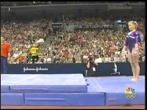 2008 US Olympic Trials Gymnastics Finals Part 1