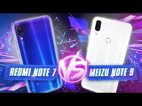 ПОКУШЕНИЕ НА ЧЕМПИОНА: Redmi Note 7 VS Meizu Note 9