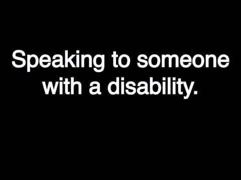 Defying Labels. Ep 6 - Interacting with someone with Cerebral Palsy or any disability