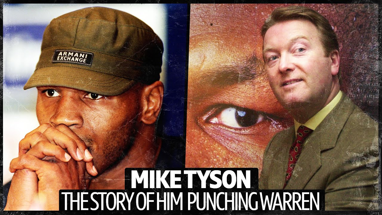OUCH 😱 Mike Tyson PUNCHED Frank Warren | The Story Behind The Hotel Bust-Up