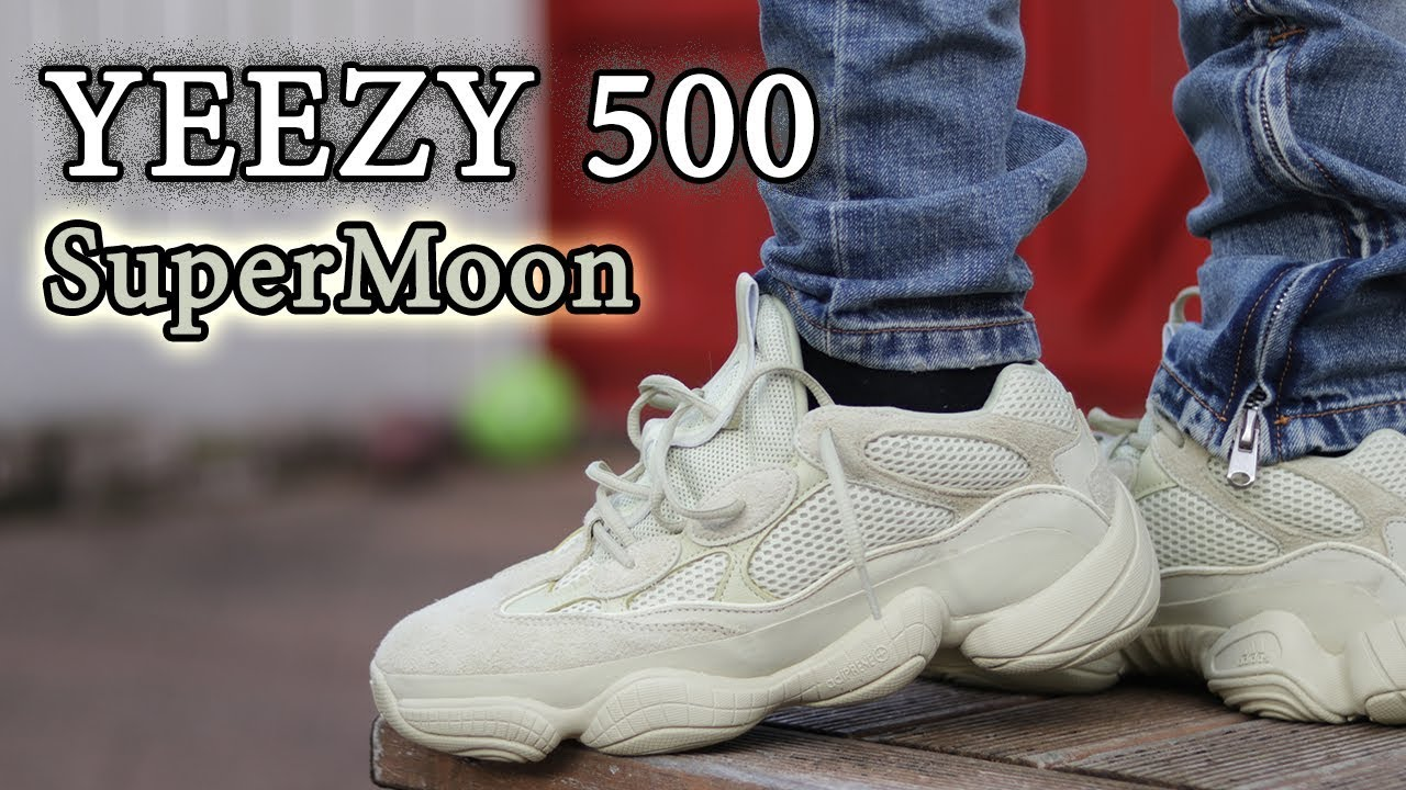 f12a893c2e65e Yeezy 500 SuperMoon On-Feet + Detailed Look w  Different Pants - YouTube