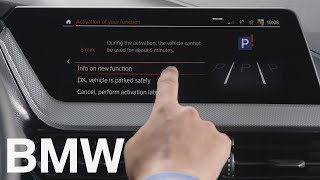How to install new features and functions over the air – BMW How-To