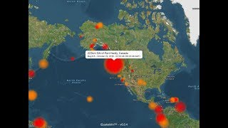 Canada earthquakes: 6.6, 6.8 magnitude quakes reported near Vancouver Island