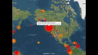Canada earthquakes: 6.6, 6.8 magnitude quakes reported near Vancouver Island